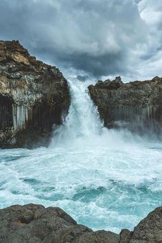 """Aldeyjarfoss - Iceland - 65°22'00.0""""N 17°21'00.0""""W"""