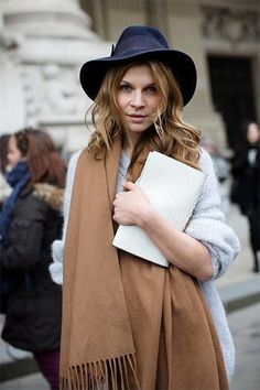 d0ceaad009ca4 Hat Chapéus Femininos, Cachecol, Inverno, Tendências Da Moda, Moda Mulhere,  Fedora
