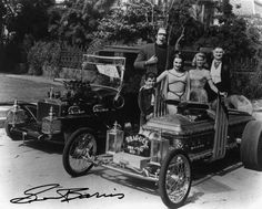 munsters car | photo of the Munsters TV car.