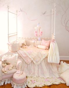 Ava Crib Bedding and Nursery Decor by Glenna Jean Ju Ju Beane Boutique