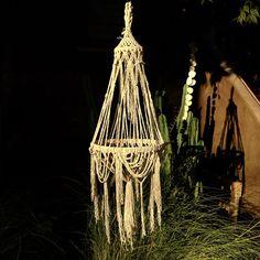 macrame handmade with linen rope