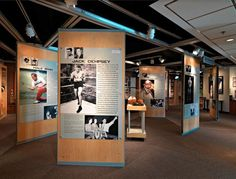 movable partitions-museum wall panels-Colorado Sports Hall of Fame: