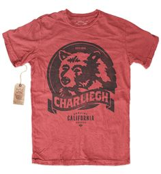 Charliegh Clothing Co. — CA-BEAR - RINGSPUN COTTON CREW NECK T-SHIRT
