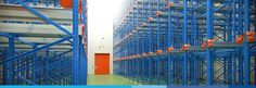 Silver Lining Storage Provides drive in pallet racking it is handling equipment is driven into the lanes inside the racks to deposit and retrieve pallets it is best suited for batch storage.