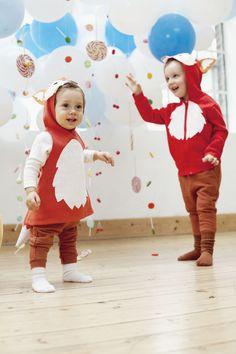 Tolle Kostüme zum Selbermachen | Kirsten und Frauke von Designer Brause haben ihr Hobby zum Beruf gemacht: Aus der Leidenschaft für verrückte Mottopartys ist ein DaWanda-Shop mit Kinderverkleidungen entstanden. Für uns haben sie sich was Lustiges für ganz kleine Jecken ausgedacht – zum Nachnähen.