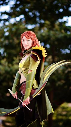 ~Windrunner ~Cosplay ~Dota 2 ~By bohemophile