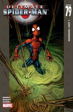 Ultimate Spider Man, Ultimate Marvel, Stan Lee Spiderman, Spiderman Art, Comic Book Covers, Comic Books Art, Mark Bagley, Comic Book Collection, Hobgoblin
