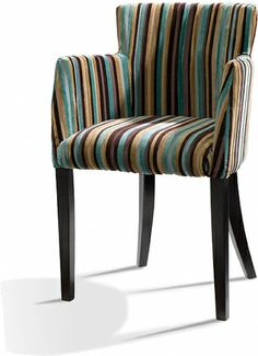 Low Back Upholstered Dining Chairs With Arms