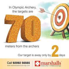 Awesomeness begins in 2 days from now! #MarshallsWallcoverings #Walldecor #Homedecor #Wallpapers #Mumbai #Pune
