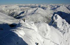 cheakamus mountain north face ski steep powder