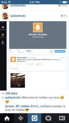 #jensengotatwitter #getexcited