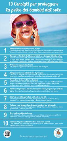 Il sole provoca tumori alla pelle, proteggiamo il futuro dei nostri bambini dai melanomi