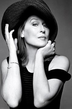 I hope to be as sexy and confident as Meryl when I'm her age.