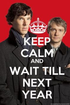 I must know what happens after The Reichenbach Fall.