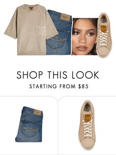 """""""The face I make when she says """"it's complicated"""""""" by kemidubs ❤ liked on Polyvore featuring Coleman, Abercrombie & Fitch and adidas Originals"""