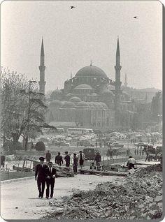 Eski zamanların İstanbul'u Fatih - 1960