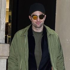 Robert Pattinson is seen shopping at the Dior mens shop in Paris