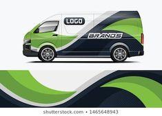 FunkWrap:s portfolio på Shutterstock Portfolio, Car Oil Change, Logo Branding, Branding Design, Car Prints, Van Wrap, Toyota Hiace, Racing Stripes, Auto Service