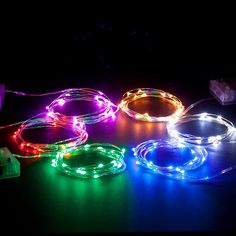 Generous Factory Vendor 100pcs Different Colors Battery Submersible Led Lights For Brithday Party Lights & Lighting