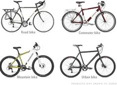 How to choose commuter bike gear.