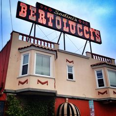 Sodini's Bertolucci's in South San Francisco, CA -- suggestion from Molly