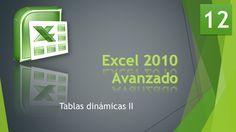 Excel Avanzado 2010 Bases de Datos 12 Tablas dinámicas 2