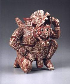 Ancient Greek Art, Ancient Aliens, Colombian Art, Mexico Art, Art Premier, Aztec Art, Native American Pottery, Mesoamerican, African Textiles