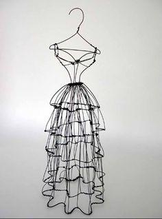 Leigh Pennebaker 3D wire fashion - Recherche Google