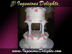 Wedding Cakes - Ingenious Delights LLC