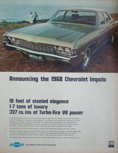 https://flic.kr/p/eYAXVW | 1968 Chevrolet Impala 327Cubic Inch Sedan Aussie… #chevroletvintagecars