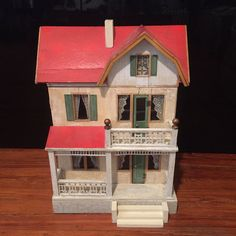 Dollhouse Miniature Abraham Lincoln Bookends /& Books 1:12 Doll House Miniatures