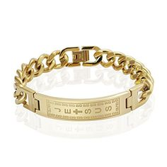 AnaZoz Jewelry 18k gold filled bracelets bangles men jesus cross stainless steel pulseiras. By AnazoZ Jewelry Shop Adopt Resist Allergy Material,Ensure Safety And Environmental Protection. Over 1000+ Offers High Quality Luxury Jewelry, Choose a Favorite Gift. 30-Day Money Back Guarentee.100% Secure Shopping. By AnazoZ Jewelry Brand Free Package As a Gift. Any Questions by E-mail, You Will Get a Reply in 24 Hours.