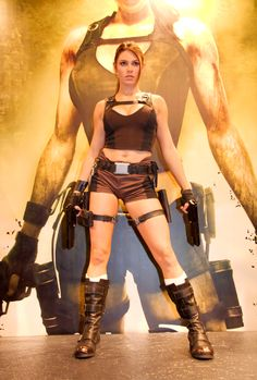 Lara Croft by Alison Carrol, Tomb Raider.