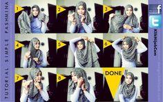 Tutorial Hijab Modern 70