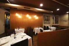 Un espacio para disfrutar de una experiencia @Lucio_Gastrobar total, nuestro comedor de la zona #gastrobar www.lucioasadorgastrobar.com