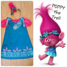 44 best trolls christmas gift ideas images on pinterest poppy the troll costume poppy the troll dress poppy the troll birthday poppy birthday troll dress solutioingenieria Choice Image
