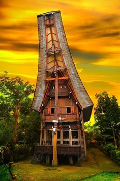 Toraja Architectural Building - Sulawesi Island
