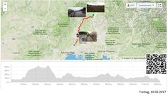 Über die Hügel dem Meer entgegen  Vollständiger Bericht bei: http://agu.li/R1  Von Viviers ging es schon bald in die Hügel. Danach sehr wellig durch die Ardèche und weiter in Richtung Meer. Ein weiterer Tag im Regen. Das GPS meint: 122.2 KM und 1321 Höhenmeter.