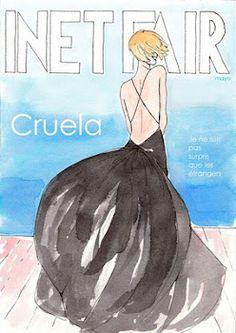 fashion illustration: cru