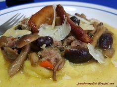 Pane, burro e alici: polenta