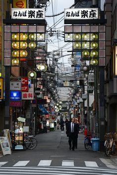 Osaka Streets - Namba, Japan
