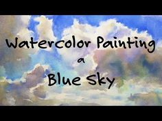 She has great painting tutorials. Watercolor Painting Tutorial by Jennifer Branch. Watercolor Painting Techniques, Watercolor Projects, Sky Painting, Watercolour Tutorials, Painting Lessons, Watercolor Paintings, Gouache Painting, Painting Tutorials, Watercolours
