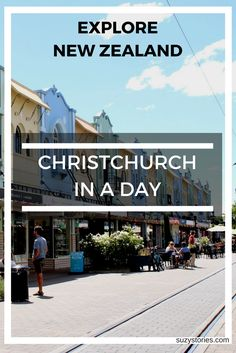 From botanical gardens to street art - see what you can do within one day on a trip around the stunning and cultural city of Christchurch, New Zealand.