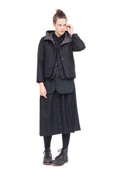 Engineered Garments - Tuck skirt