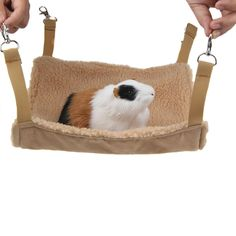 Emours Small Animal Hammock Hamster House Hanging Bed Cage Toys for Mice Rats Ferret Chinchilla and More Brown * Want extra details? Click the photo. (This is an affiliate link).