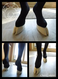 IF ONLY I HAD THE MONEY :'( ....Unisex Simple Hooves and Leggings by ChaosCostumes on Etsy, $170.00
