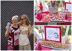 50s housewife bridal shower