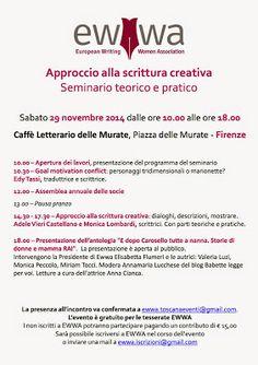 Voci Letterarie e non solo: Approccio alla scrittura creativa - seminario teor...