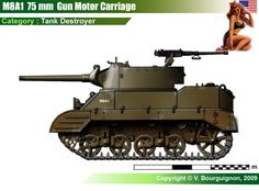 M8A1 75 mm Gun Motor Carriage