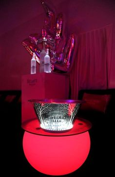 Cannes Comes Undone Duran Duran At Belvedere Red Party  Design by QSLD
